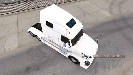 La piel de América del Norte para camiones Volvo para American Truck Simulator
