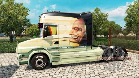Scania T Longline [Free As A Bird] para Euro Truck Simulator 2