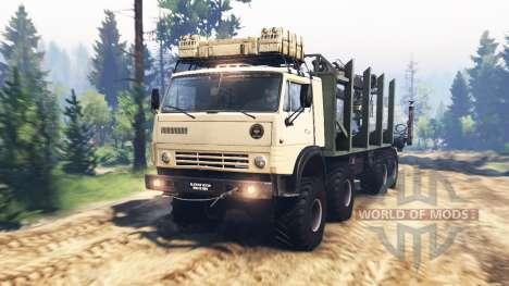KamAZ-63501-996 Mustang v2.0 para Spin Tires