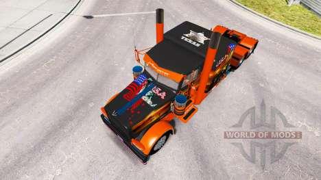 La piel Texas, estados UNIDOS para el camión Pet para American Truck Simulator