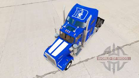Скин de la Universidad de Duke Orgullo v1.02 на  para American Truck Simulator