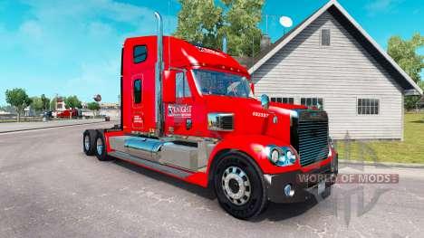 La piel de los Caballeros en el tractor Freightl para American Truck Simulator