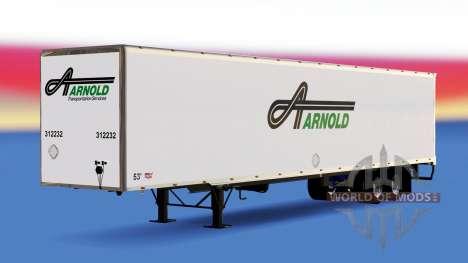 Todo el metal-semirremolque Arnold para American Truck Simulator