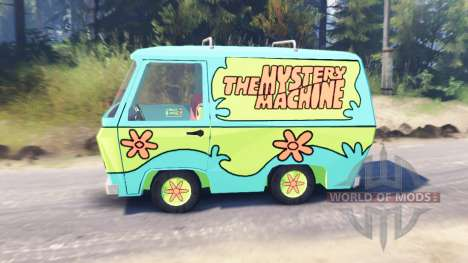 The Mystery Machine [Scooby-Doo] para Spin Tires