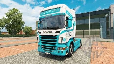 Kouhia Oy piel para Scania camión para Euro Truck Simulator 2