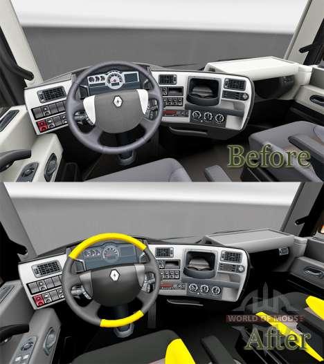 Obtener FKD de la piel para Renault camión para Euro Truck Simulator 2