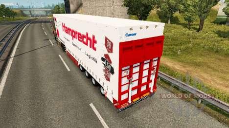 Corona de la cortina semi-remolque Hamprecht para Euro Truck Simulator 2