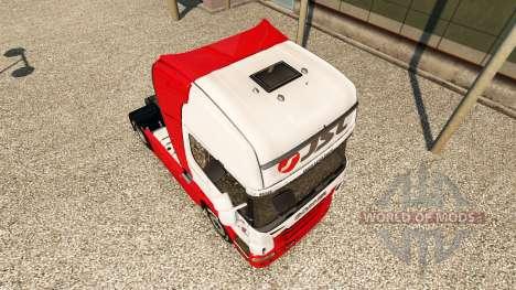 JSL piel para Scania camión para Euro Truck Simulator 2