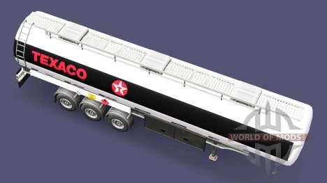 Combustible semi remolque Texaco para Euro Truck Simulator 2