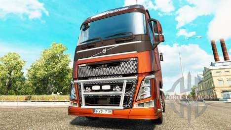 Excelente calidad para camiones Volvo para Euro Truck Simulator 2
