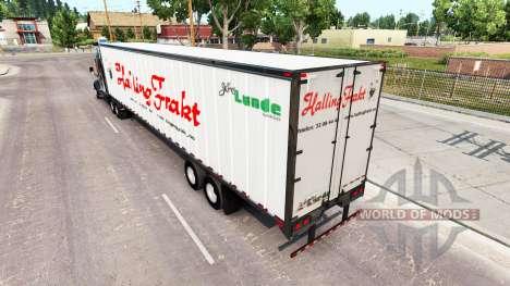 Semi-remolques real con los logotipos de v1.0.1 para American Truck Simulator