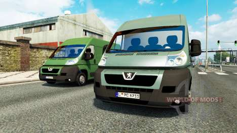 Peugeot Boxer para el tráfico para Euro Truck Simulator 2