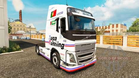 Tuga Tunning de la piel para camiones Volvo para Euro Truck Simulator 2