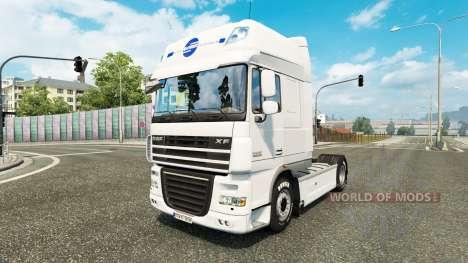 Schmidt Heilbronn skin for DAF truck para Euro Truck Simulator 2