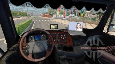 Optimización para Mercedes-Benz Actros MP3 para Euro Truck Simulator 2