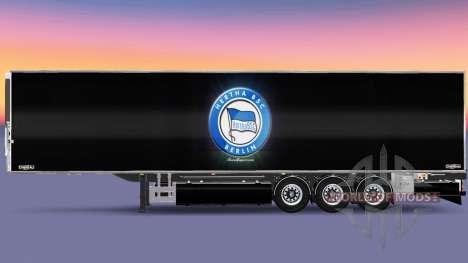 Semirremolque Chereau Hertha BSC para Euro Truck Simulator 2