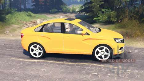 LADA Vesta (ВАЗ-2180) v2.0 para Spin Tires
