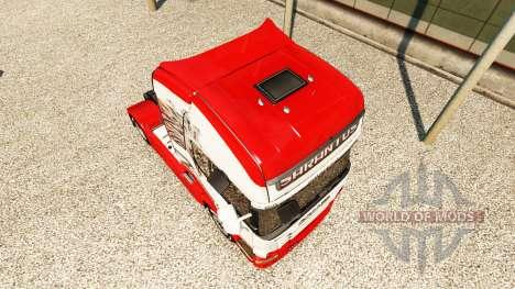 Sarantos de la piel para Scania camión para Euro Truck Simulator 2