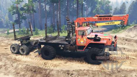 Ural-43206 v3.0 para Spin Tires
