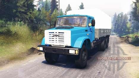 ZIL-4331 [Euro] para Spin Tires
