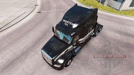 La piel de la Marta de Transporte LTD camión Pet para American Truck Simulator