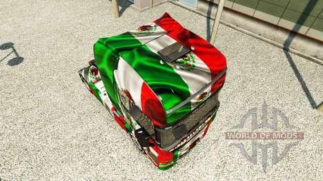 El México de Copa 2014 de la piel para Scania ca para Euro Truck Simulator 2