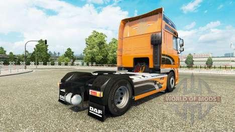 Skin DAF XF tractor DAF XF 105.510 para Euro Truck Simulator 2