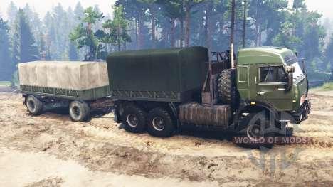 KamAZ-44108 [militar] para Spin Tires