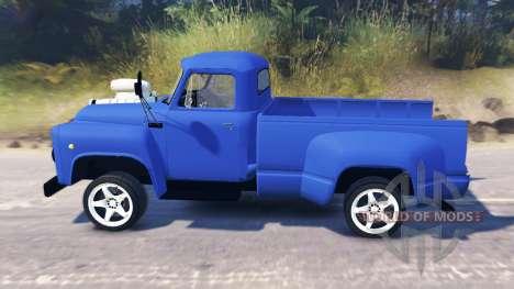 GAZ-52 [pickup] para Spin Tires