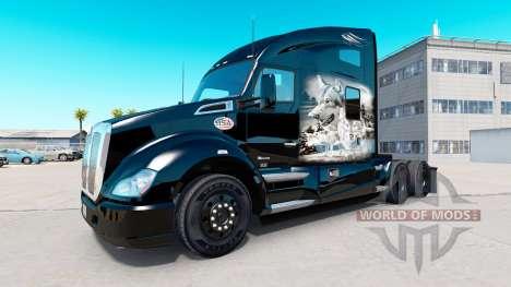 Lobo de la piel para Kenworth tractor para American Truck Simulator