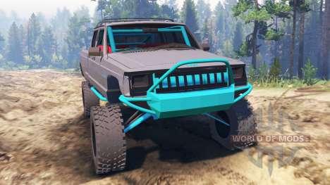 Jeep Grand Cherokee Comanche [pre-runner] para Spin Tires