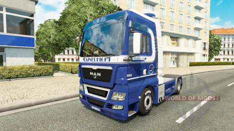 Mainfreight piel para HOMBRE camión para Euro Truck Simulator 2