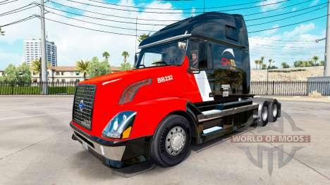 CNTL de la piel para camiones Volvo VNL 670 para American Truck Simulator
