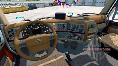 Volvo VNL 670 v1.4.1 para American Truck Simulator