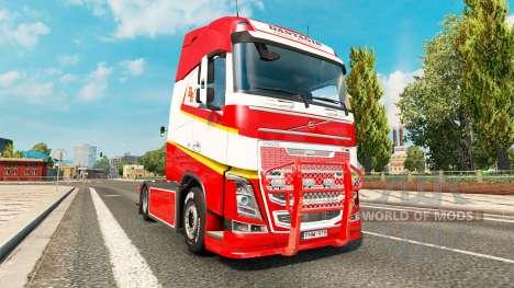 Optimización para Volvo FH para Euro Truck Simulator 2
