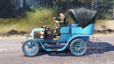 Renault Type G 1902 para Spin Tires