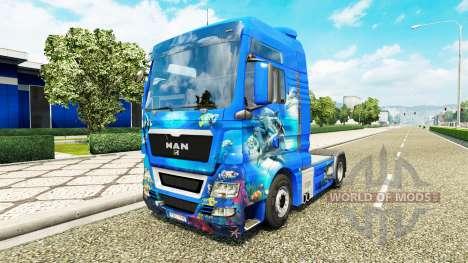 Océano de la piel para el HOMBRE camión para Euro Truck Simulator 2