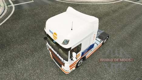 Truckland de la piel para DAF camión para Euro Truck Simulator 2