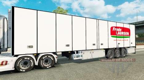 El semirremolque-el refrigerador Narco para Euro Truck Simulator 2