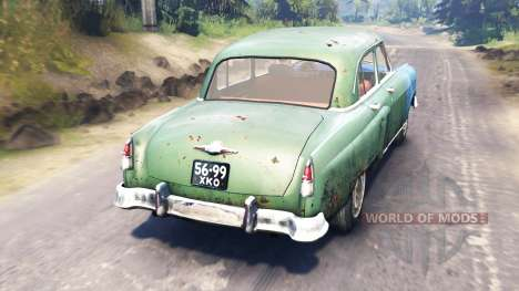 GAZ-21 Volga para Spin Tires