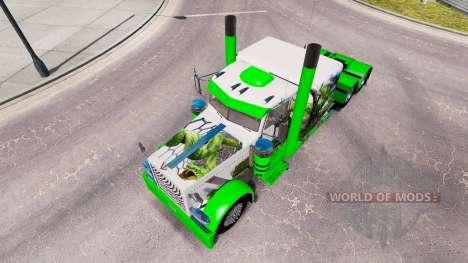 De piel de serpiente para el camión Peterbilt 38 para American Truck Simulator