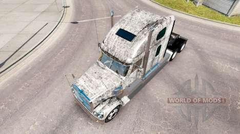 La piel Grunge Metal en el camión Freightliner C para American Truck Simulator