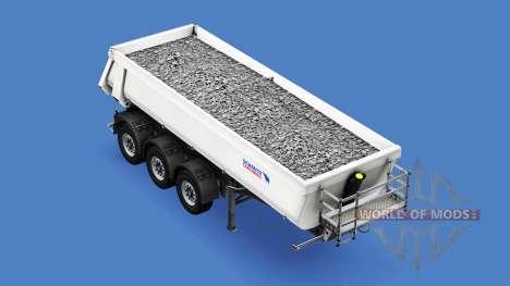 Semi-remolque tipper Schmitz Cargobull para American Truck Simulator