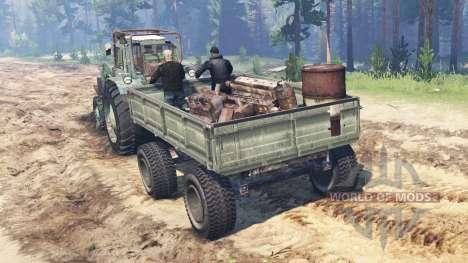 MTZ-82 1985 para Spin Tires