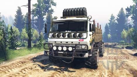 KamAZ-43114 v3.0 para Spin Tires