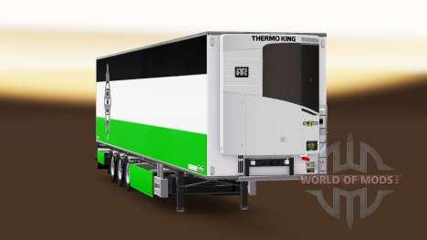 Semirremolque Chereau Borussia Monchengladbach para Euro Truck Simulator 2