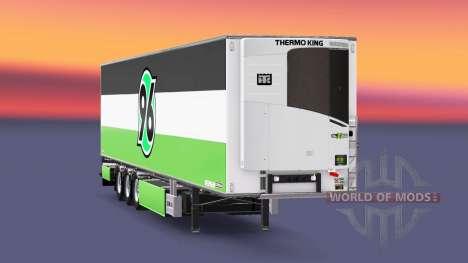 Semirremolque Chereau Hannover 96 para Euro Truck Simulator 2