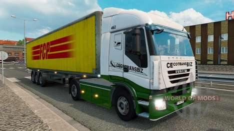 Skins para el tráfico de camiones de v1.3.1 para Euro Truck Simulator 2