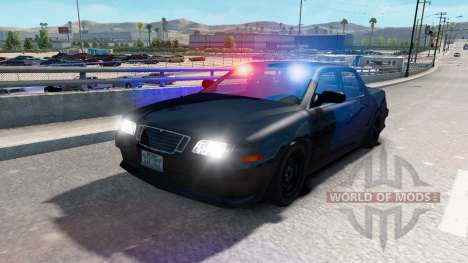 El tráfico NFS most Wanted para American Truck Simulator