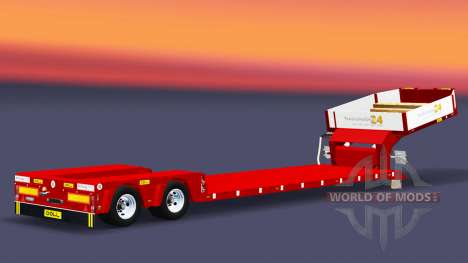Bajo la cama de arrastre de la Muñeca Vario para Euro Truck Simulator 2